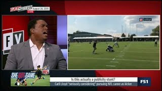 SPEAK for YOURSELF   Lavar Arrington DEBATE: Is this actually a publicity stunt?