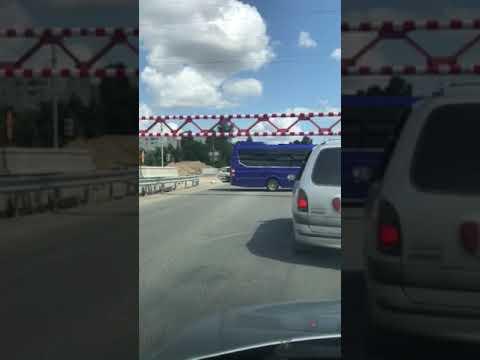 Від Тарнополя до Тернополя: Автобус Дзідзьо не зміг переїхати через Гаївський міст (16.08.2019)