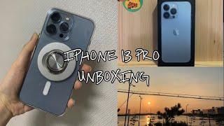 [unboxing.수록집]Iphone 13 pro I …