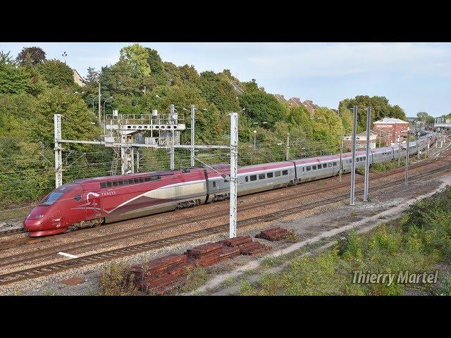 Thalys TGV PBKA - Rame n° 4341 et TGV PBA (réseau) - Rame n° 4534