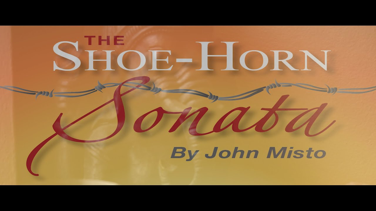 the shoe horn sonata The shoe-horn sonata uses words, reinforced with pictures and music, to establish these horrors in the imaginations of the audience structure and characterisation the structure of the play the shoe-horn sonata is divided into two acts: the longer act one, with eight scenes, and a shorter act two, with six scenes.