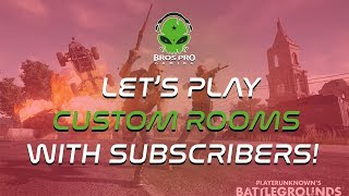 CUSTOM ROOM LIVE | PUBG MOBILE WITH PRO CLANS & BROSPRO