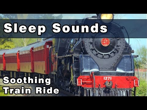 Soothing SLEEP SOUNDS: Train Sounds, Railroad Sounds, Train Ride, Ambient, Sounds For Sleep, 10 Hrs