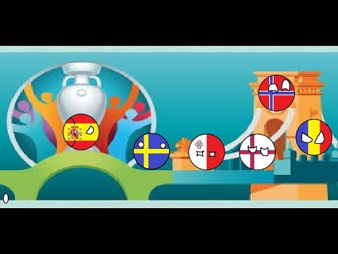 Euro 2020 Eliminations Countryball Predictions (Group F)