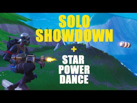 Solo Showdown & STAR POWER DANCE! BEST Sniper on YOUTUBE [PC]