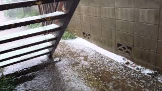 ice rain in summer at mitaka tokyo 06 24 14