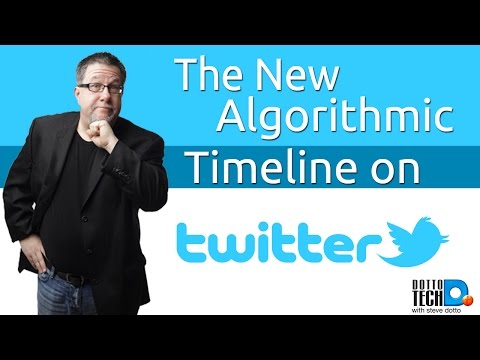 Twitter's New Timeline Algorithm - The What, Why, & How - YouTube