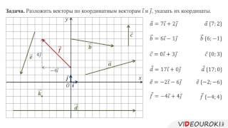 12  Координаты вектора