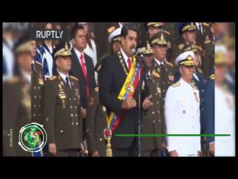 Atentado contra Nicolás Maduro, otro ángulo