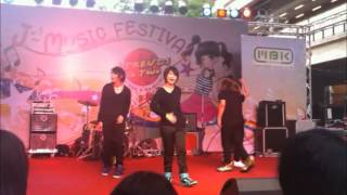 ABLAZE cover ARASHI - Face down @ J-Trend 2012/06/02