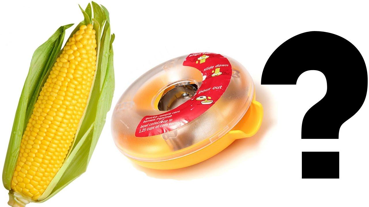 Does It Work? One Step Corn Peeler/Kerneler