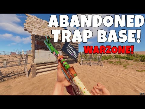 RUST | WORKING A TRAP BASE IN THE DEADLIEST AREA IN RUST! *I