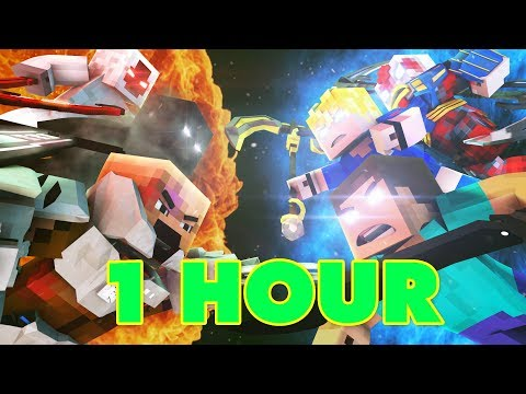 Living In A Nightmare 1 HOUR  A Minecraft Original Music  ♪