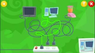 Фиксики кабельный салат. Лабиринт. Развивающий мультик игра для детей смотреть онлайн.