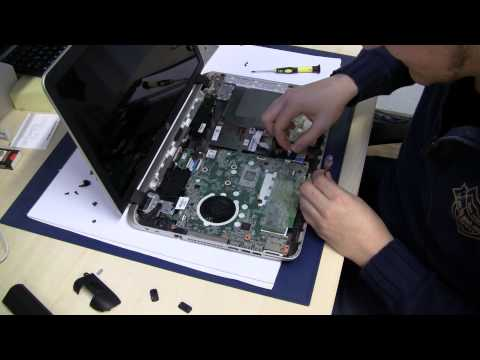 HP Pavilion (Envy) 17 / 15 Notebook HDD RAM Memory SSD Upgrade Tutorial Umbau Aufrüstung (17-f 15-f)