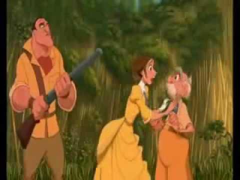 Tarzan- Daddy They Took My Boot - YouTube