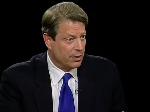 Al Gore and wife Tipper Gore interview (2002)