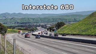 2018/04/01 - Interstate 680, South - San Francisco Bay Area, California
