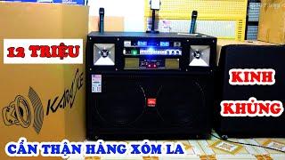 Loa kéo cao cấp 12 triệu ✅| Thùng loa karaoke di động bass 4 tấc đôi hay nhất giá rẻ