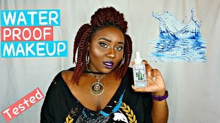 BEST SETTING SPRAY EVER | WATERPROOF MAKEUP TESTED