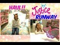 JUSTICE CLOTHES|RUNWAY SHOW & HAUL
