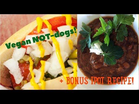 "Vegan ""NOT-Dogs""! | + BONUS IPOT RECIPE!"