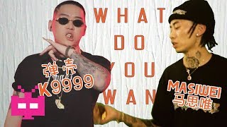 💸弹壳 K9999 & 马思唯 Masiwei 💸《 WHAT DO YOU WANT 》L Y R I C  V I D E O
