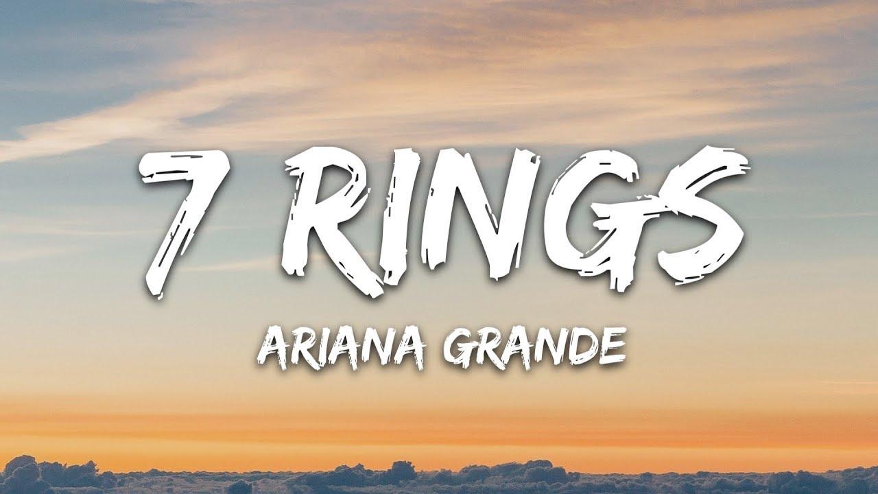 7 Rings (Lyrics)