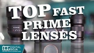BEST Fast Prime Lenses for Sony Alpha α7R II