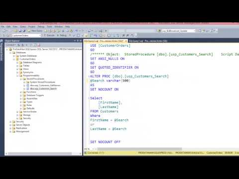 SQL Injection Fix Part 2: Call Stored Procedures from Web Application - Video