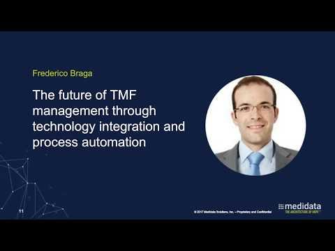 Single Source of Truth The Future of TMF automation Medidata Webinar   November 15, 2017