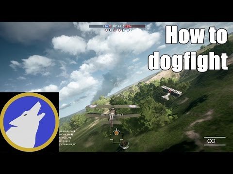 How to DOGFIGHT in BF1 | Angles, elevation, and airspeed | Flight School