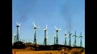 Defunct Turbines in Kern County, California