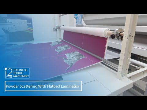 Powder Scattering With Flatbed Lamination