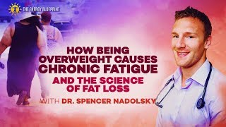 How Being Overweight Causes Chronic Fatigue, And The Science Of Fat Loss with Dr. Spencer Nadolsky