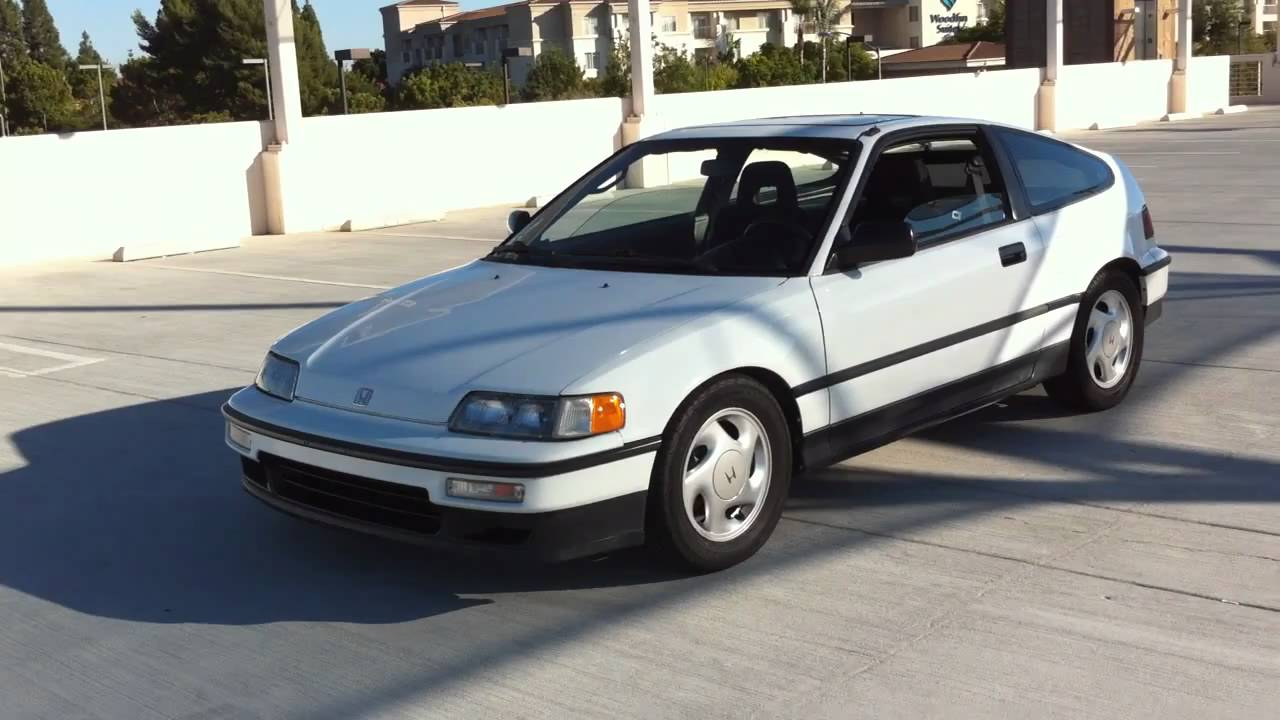 Autopeek: 1991 Honda CRX Si Walk Around   YouTube