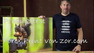 Produkttest ZOR Forex Print