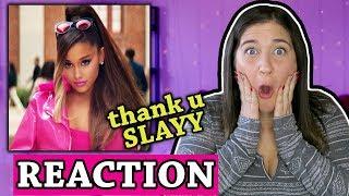 Ariana Grande - thank u, next Music Video | REACTION