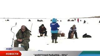 В Андеге прошли межмуниципальные соревнования по подледному рыболовству