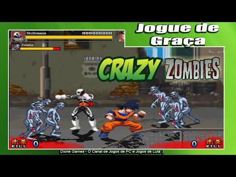 CRAZY ZOMBIE - 15 Minutos Com o Jogo - Confira Agora! (PC/Gratis/Dione Games/PT-BR)