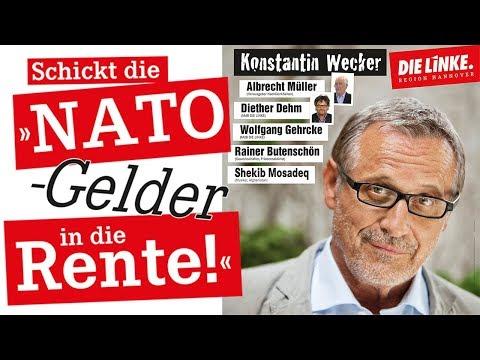 """Konstantin Wecker in Hannover: """"Schickt die NATO (Gelder) in die Rente"""""""