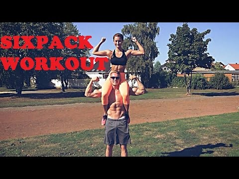 Sixpack Workout Mit Lena Starke Bauchmuskeln Ohne Gerate