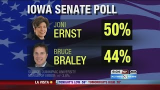 Iowa Senate race heating up; Negative ads to become more common