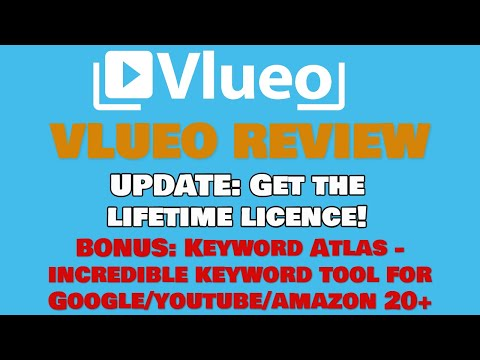 Vlueo Launch Price Ending 👀 Amazing Bonus Product Keyword Atlas 🎁 thumbnail