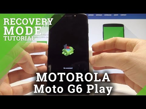 How To Boot Into Recovery Mode On MOTOROLA Moto G6 Play - Android System Recovery