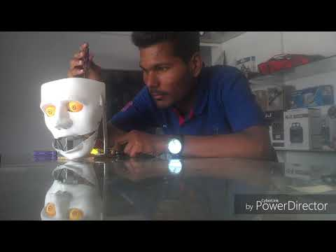 Animatronics Humanoid Robo Face Making | Engineering SuperStar