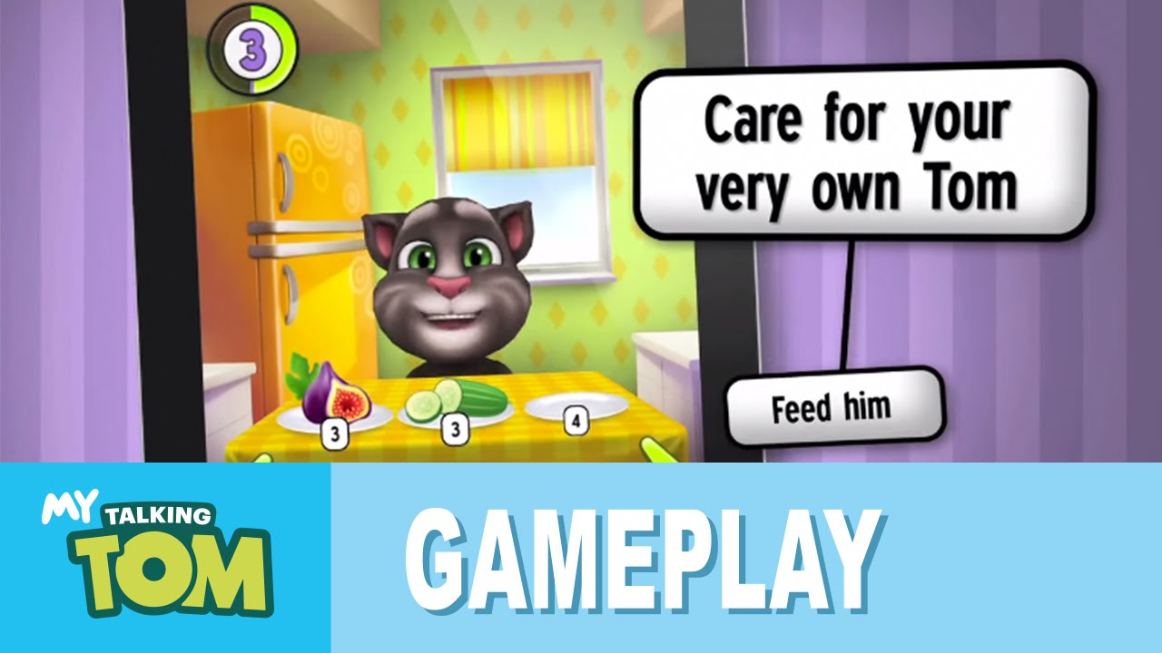 My Talking Tom Gameplay Trailer Youtube