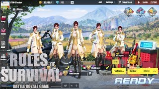 Rules of Survival - COUNTESS OF KINGSTOWN SUIT SQUAD CHALLENGE!