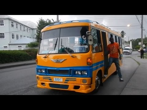 Barbados Reggae Bus