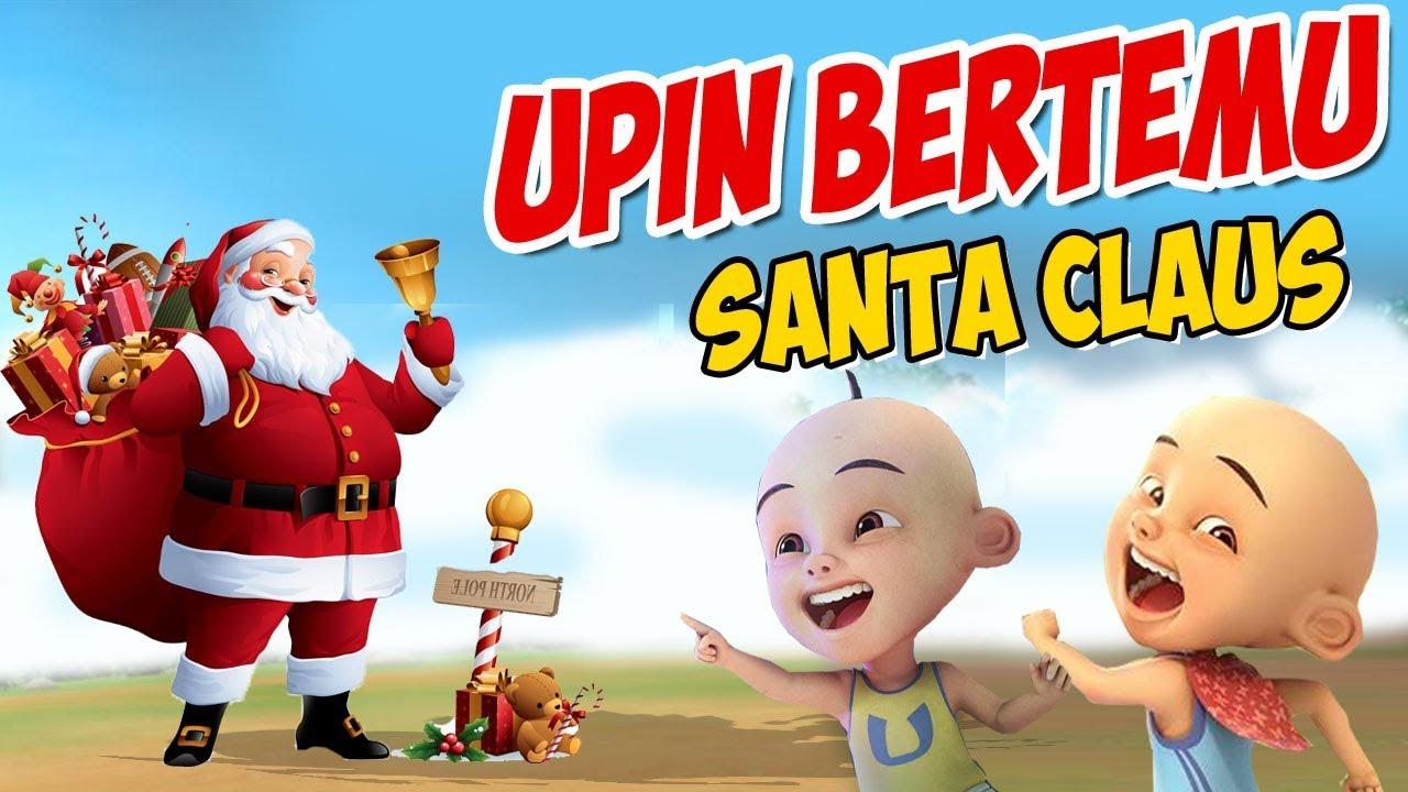Upin ipin bertemu Santa claus , dikasih Hadiah banyak upin ? GTA Lucu
